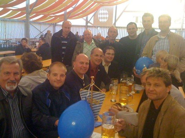 Bayreuther CSUler zu Besuch bei der Kreuzer Kerwa