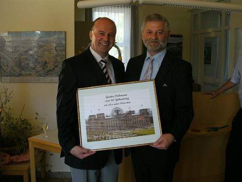 MdB Koschyk gratuliert Bürgermeister Pöllmann