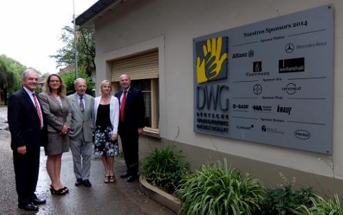 Claudio Matschke, Geschäftsführer der Deutschen Wohltätigkeitsgesellschaft Buenos Aires,DSCF0328 (500x313)