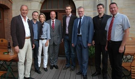 Hartmut Koschyk MdB zusammen mit Mitgliedern der CSU-Stadtratsfraktion