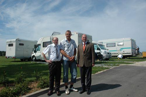 MdB Koschyk gemeinsam mit Juniorchef Jörg Reichold und Siggi Stadter