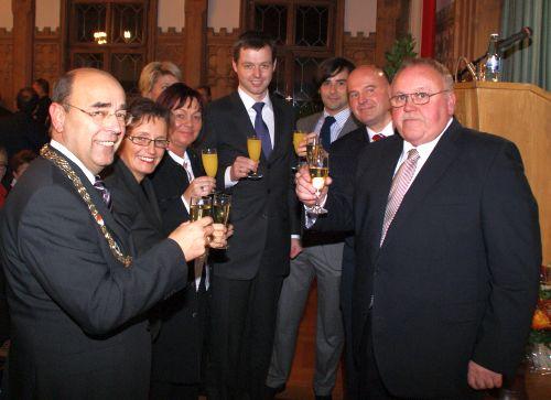 Geburtstag von Bürgermeister Franz Streit