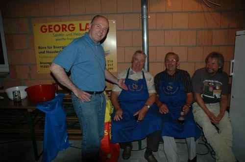 Auch Mitglieder des Schürzenclubs Preunersfeld waren gekommen
