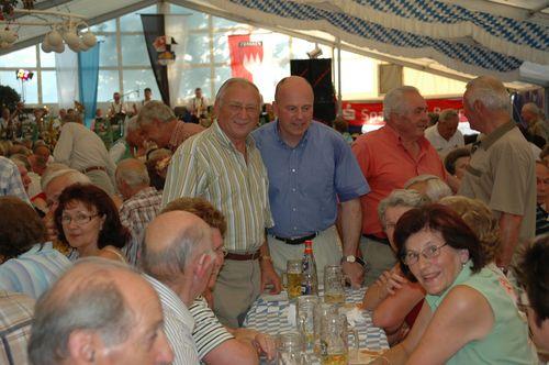 MdB Koschyk und Josef Ringler sowie weiteren Mitgliedern der Senioren Union