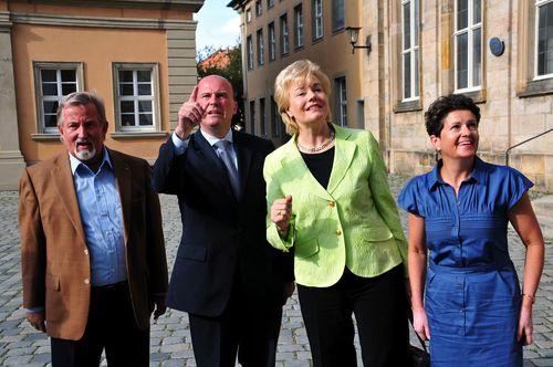 Walter Nadler MdL, Hartmut Koschyk MdB, Erika Steinbach MdB und Gudrun Brendel-Fischer MdL