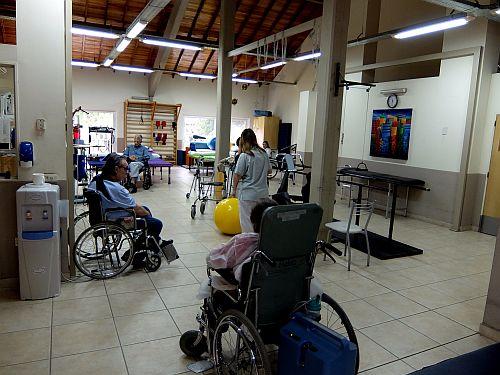 das Reha-Zentrum der Deutschen Wohltätigkeitsgesellschaft in Buenos Aires, das in Zusammenarbeit mit dem Deutschen Krankenhaus betrieben wird DSCF0321