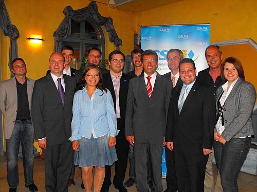 RCDS und CSU diskutieren zu Europa