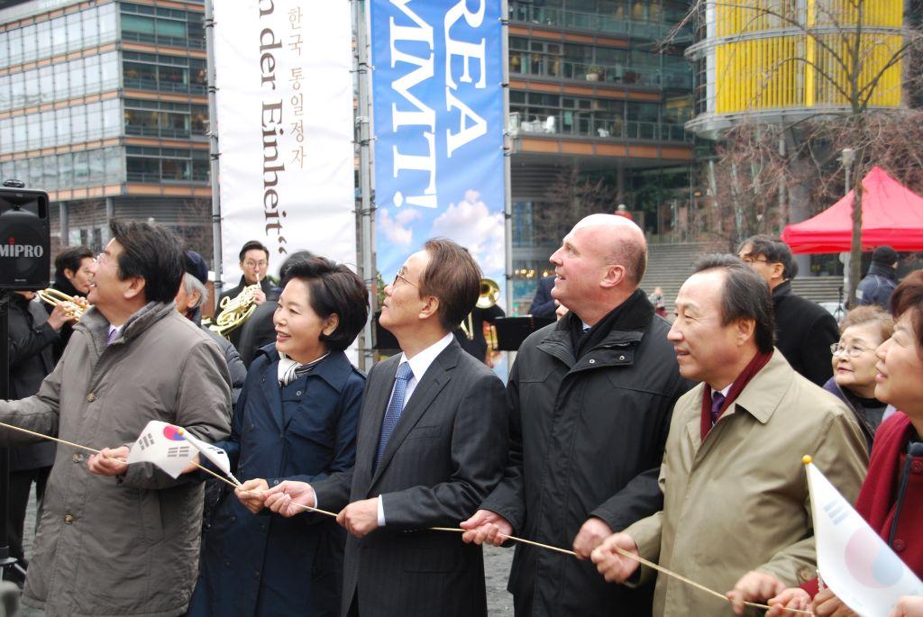 Eröffnung Pavillon