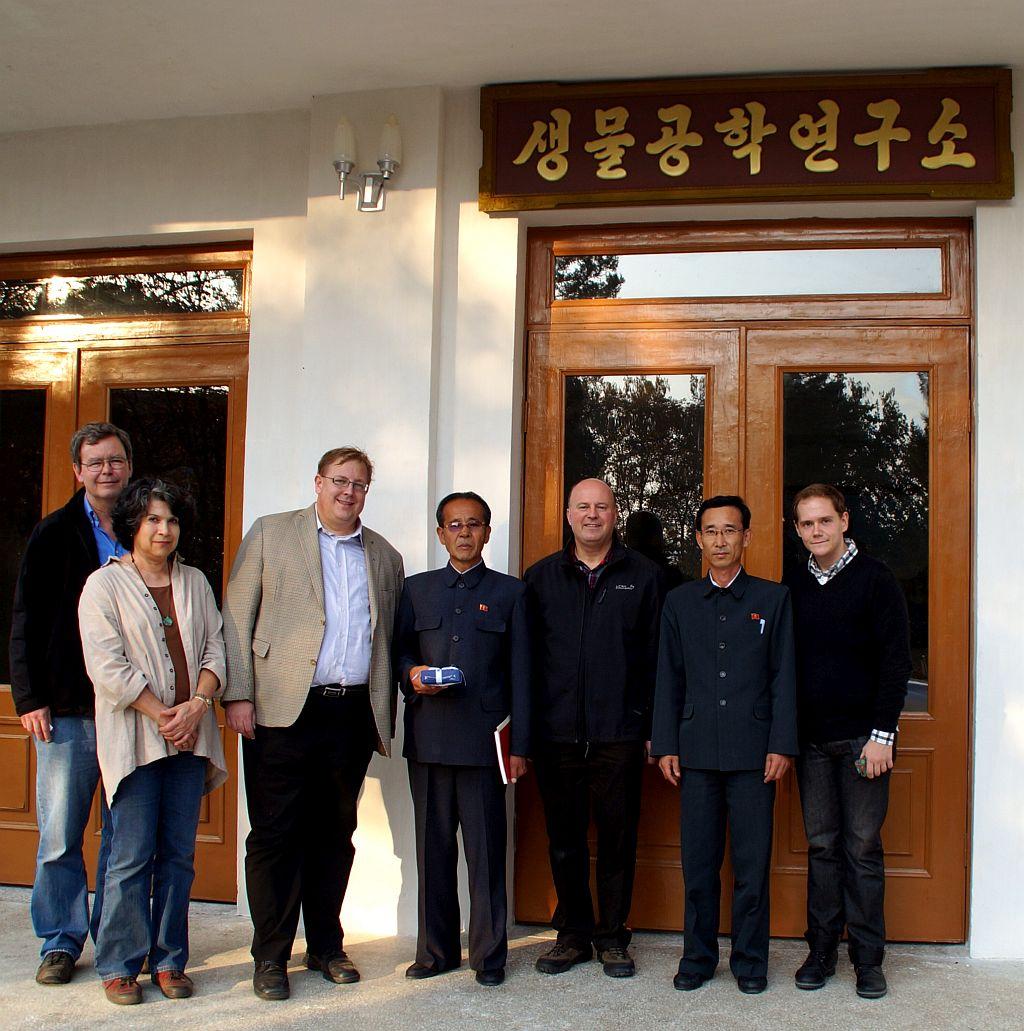 Besuch Landwirtschaftsuniversität Wonsan