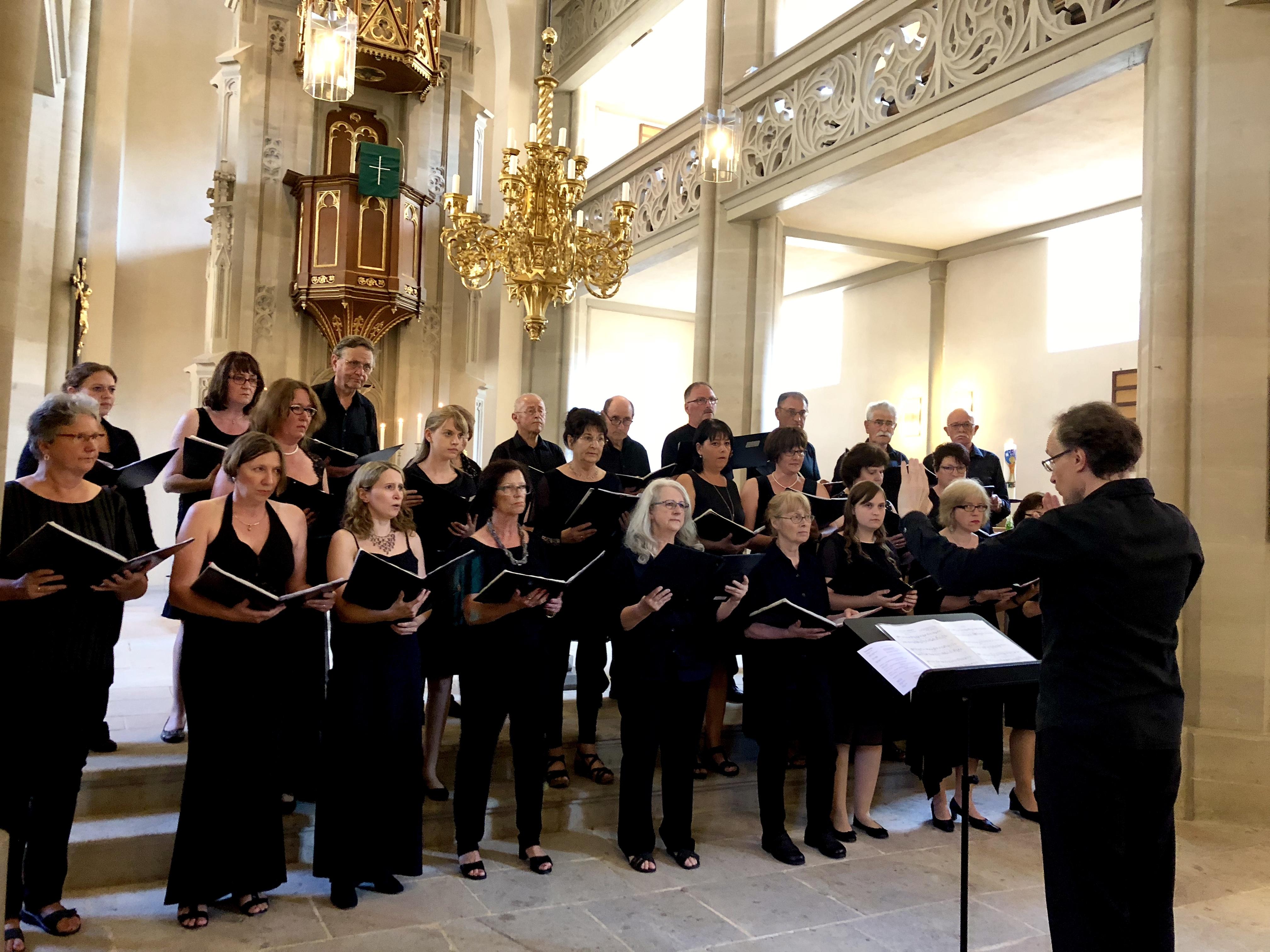 "Eindrucksvolles Konzert von ""Lingua Musica"" in Goldkronacher Stadtkirche erinnert an Dreißigjährigen Krieg"